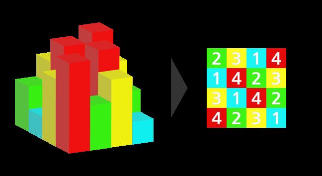 ビルディングパズルのイメージ
